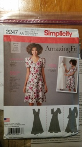 Basic princess line fitted pattern Simplicity 2247